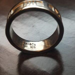 Tiffany Atlas Ring Size 7